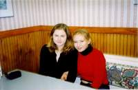 me and Katya. USA 2001