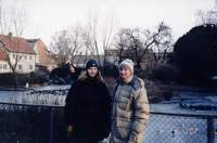 me and my friend Niklas. Sweden, Ystad. 2002