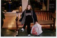 in a Bangor mall. USA 2001
